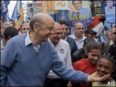 José Serra em campanha