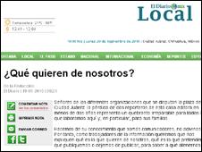 Sitio de internet de El Diario de Ciudad Juárez