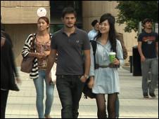 英國大學生與留學生
