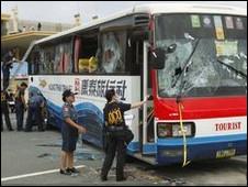 被劫持的巴士