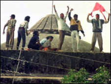 1992இல் பாபர் மசூதி இடிக்கப்பட்டது