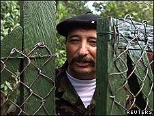 """Víctor Julio Suárez Rojas, el """"Mono Jojoy"""", jefe militar de las Fuerzas Armadas Revolucionarias de Colombia"""
