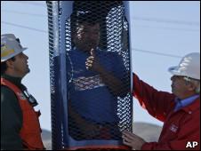 Cápsula para el rescate de los mineros chilenos