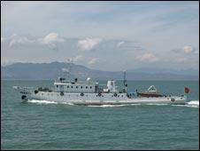 中国渔政船203号(图片来源:中国漳州市海洋与渔业执法支队网站)
