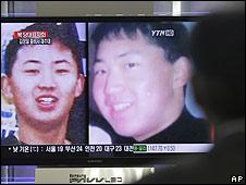 Kim Jong-un, en un canal surcoreano