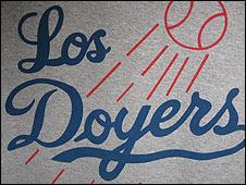 """Logo con el apodo de """"Los Doyers"""""""