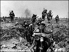 Tropas británicas en 1916 (foto de archivo).