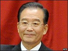 中国总理温家宝(01/10/2010)
