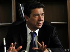 希腊投资部长潘布克斯(28/09/2010)