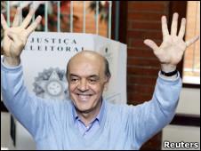 José Serra del PSDB