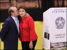 Dilma Rousseff y Tarso Genro,  Tarso Genro, candidato a gobernador de Río Grande do Sul