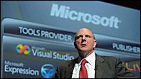 Steve Ballmer, presidente de Microsoft