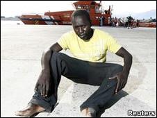 Imigrante africano