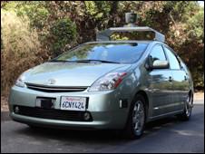 Carro usado pela Google nos testes