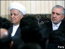عبدالله جاسبی و اکبر هاشمی رفسنجانی