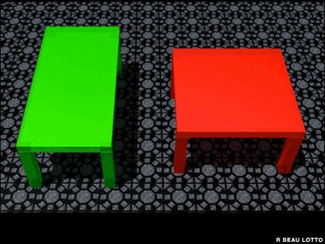 Иллюзия стола