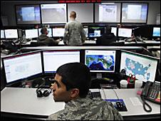 Centro de seguridad cibernética en EE.UU.
