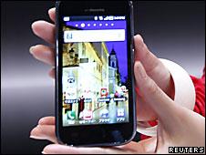 El teléfono Samsung Galaxy S