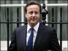 英国首相卡梅伦