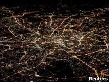 Вид на Москву с птичьего полета
