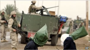 Irak'ta gözaltına alınan kişiler