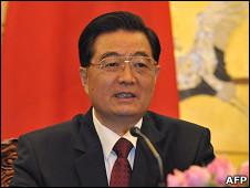 Presidente chino, Hu Jintao
