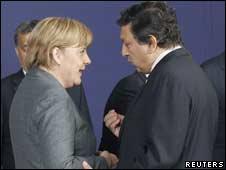 Анґела Меркель і Ніколя Саркозі