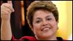 Dilma Rousseff após votar em Porto Alegre neste domingo (AFP)