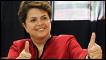 A petista derrotou o candidato do PSDB, José Serra, no segundo turno. Ela será a primeira mulher a assumir o Planalto.