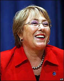 Michelle Bachelet, ex presidenta de Chile
