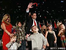 El republicano Marco Rubio ganó el escaño para el Senado por Florida.