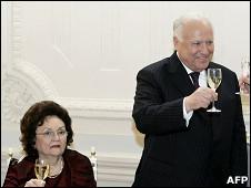 Виктор Черномырдин и его жена Валентина (2008 год)