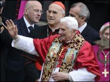 Papa chega à Espanha
