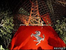 Parque de diversiones de Ferrari en Abu Dhabi