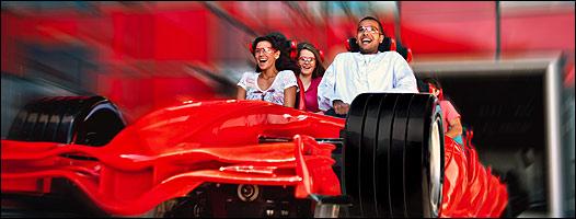 Formula Rossa de Ferrari