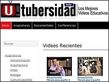 Imagen del sitio Utubersidad.com