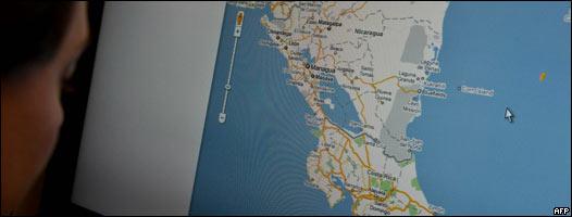 Nicaragua invade Costa Rica con... un error de google maps?!