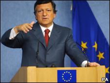 José Manuel Barroso, presidente de Comisión Europea