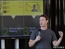 Mark Zuckerber, cofundador de Facebook