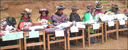 Concurso de gastronomía en los Andes Foto: cortesía FAO