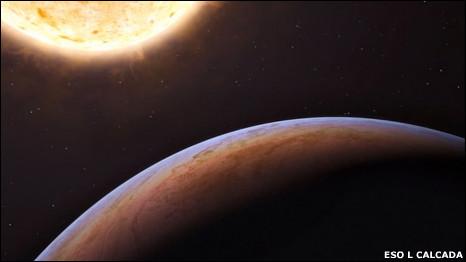 Рисунок экзопланеты