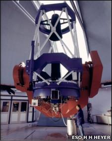 Телескоп Европейской южной обсерватории