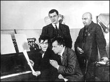 چهار نابغه هنر شوروی