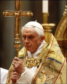 پاپ بندیکت - عکس از بی بی سی فارسی