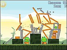 Imagen del juego Angry Birds