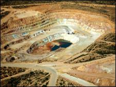 Minería a cielo abierto (Foto genérica de archivo)