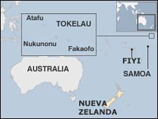 Mapa Nueva Zelanda