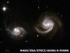"""La medición depende de cientos de pares de """"galaxias binarias"""""""