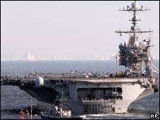美国战舰乔治·华盛顿号