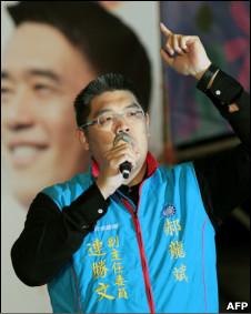 枪击事件前的连胜文(26/11/2010)